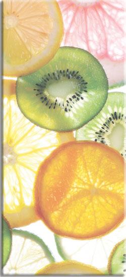 fototapeta na szyby owoce