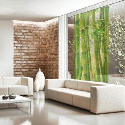dekoracje szyb bambusy