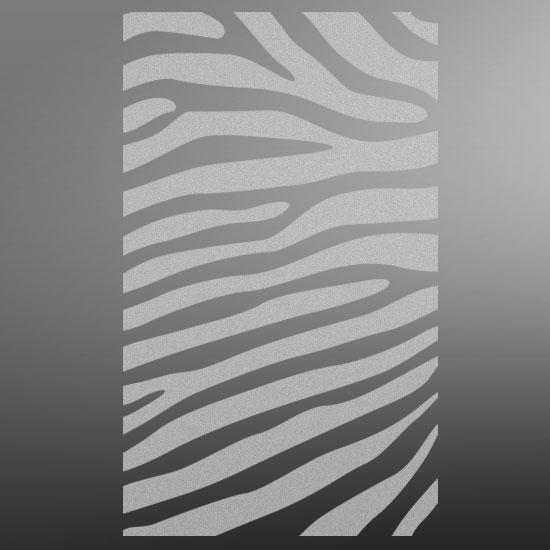 obrus na szklany blat zebra