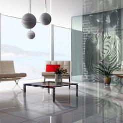 fototapety na okno zebra