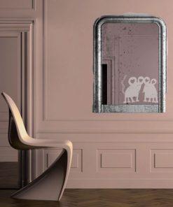 naklejki do pokoju dziecięcego dekoracja lustra