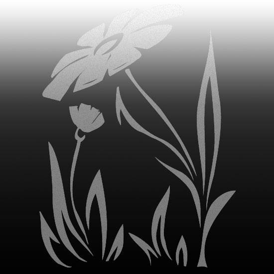 naklejki na lustro kwiatek