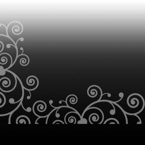 abstrakcyjny wzór do dekoracji lustra
