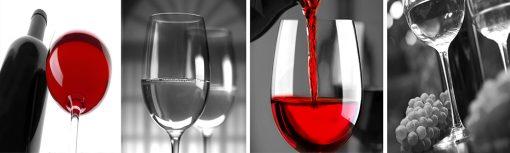 folia na szybę z winem