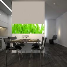 zielone wzory na szyby