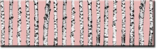 pastelowo różowa naklejka pod szybę do kuchni