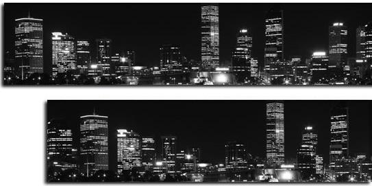 fototapety pod szyby miasto