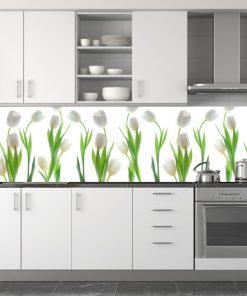 naklejki na szyby tulipany