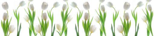 naklejka z tulipanami pod szybę