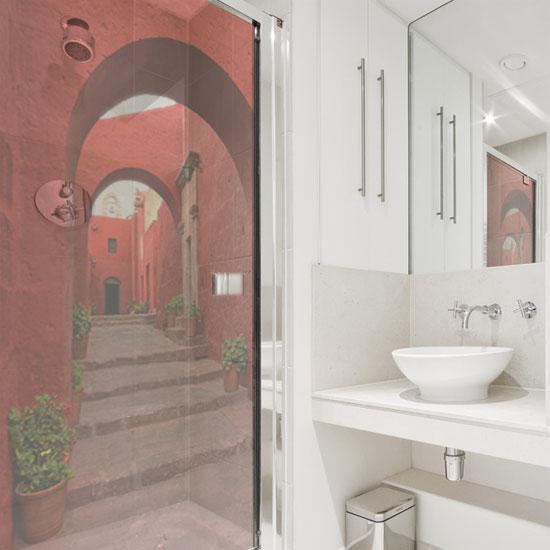 folia na kabinę prysznicową