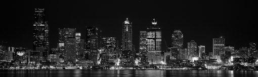 fototapeta miasto na szybę