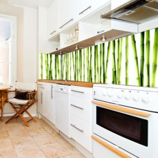 okliena z bambusem