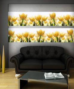 naklejka z tulipanami