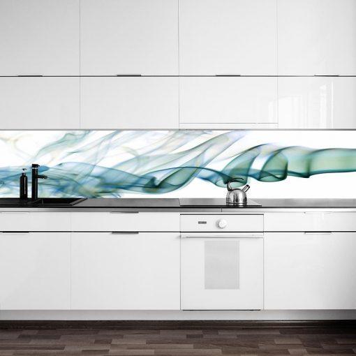 naklejka kuchenna na szybę abstrakcja