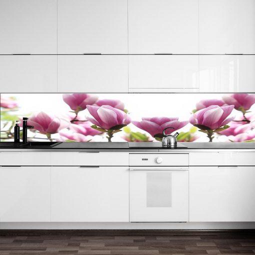 laminat na szybę magnolie