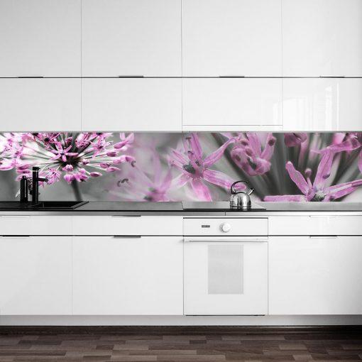 fototapeta na szybę różowe kwiaty