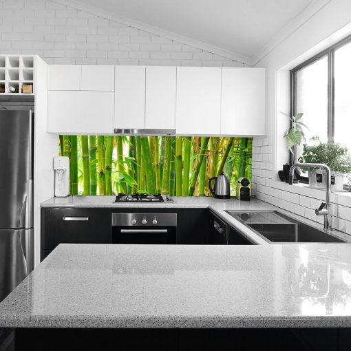 laminat pod szybę bambusy