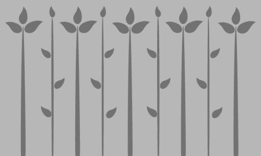 naklejka na okno liście