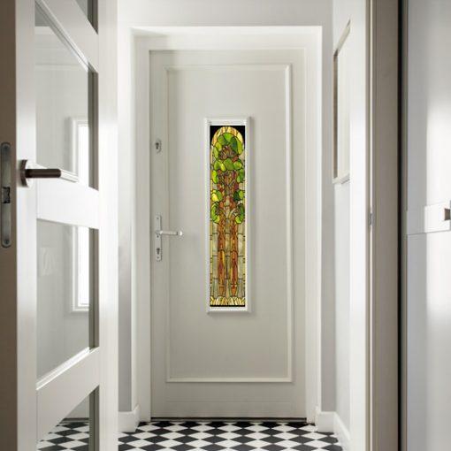 Jak odnowić stare drzwi z szybą