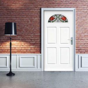 naklejki na przeszklenia w drzwiach