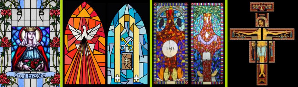 witraże samoprzylepne do kościoła