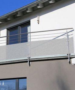 folia na szybę na balkonie