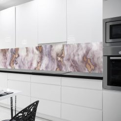 okleina na szybę fioletowy marmur