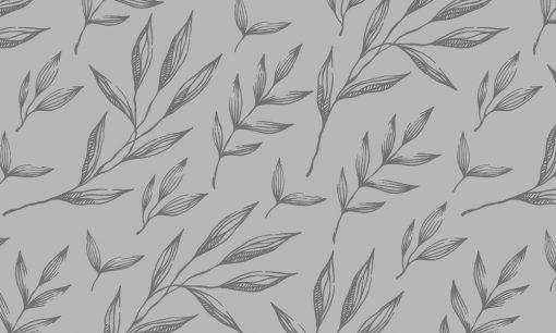 folia mrożonka z motywem listków