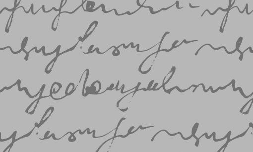 naklejka mrożonka z motywem napisów