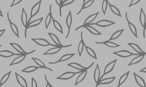 mrożona naklejka z motywem liści