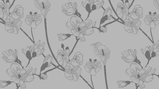 obrus naklejka magnolie na szklane blaty