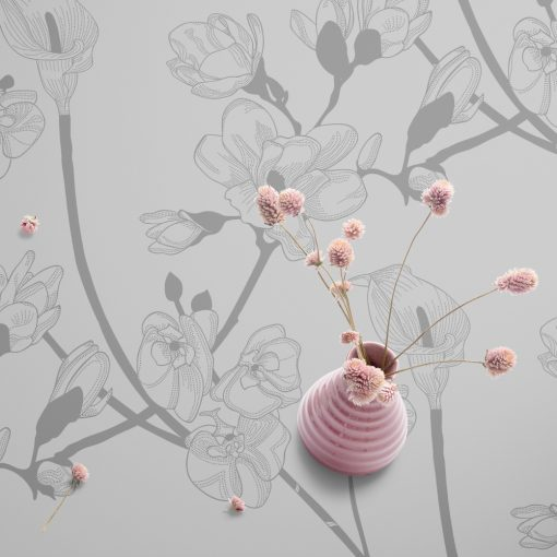cerata samoprzylepna magnolie na szklane stoły