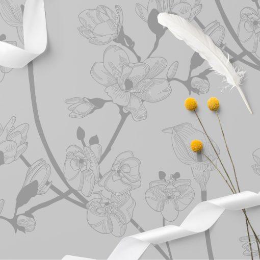 obrus magnolie na szklane blaty