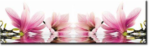 okleina na szybę kuchenną kwiaty magnolii