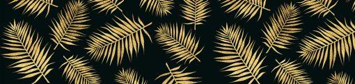 laminat pod szkło kuchenne - liście palmy