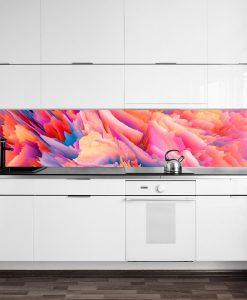 naklejka pod szybę kolorowa abstrakcja