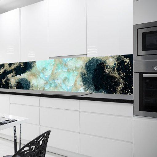naklejka pod szkło z akwarelowym wzorem