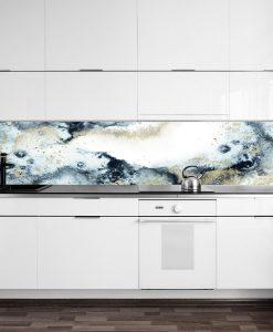 naklejka akwarele pod szkło do kuchni