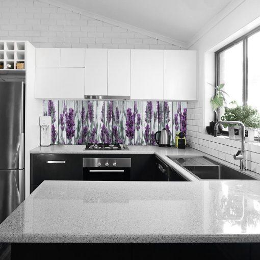 naklejka na szkło do kuchni Prowansja