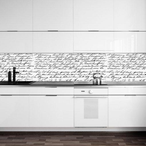 laminat na szkło kuchenne napisy