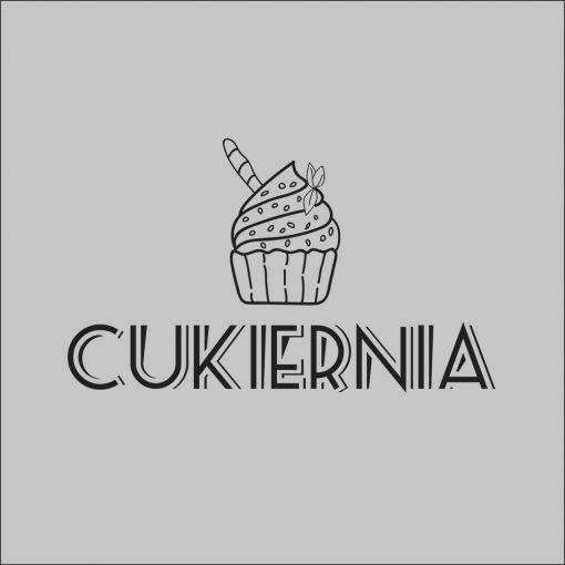 naklejka cukiernia logo
