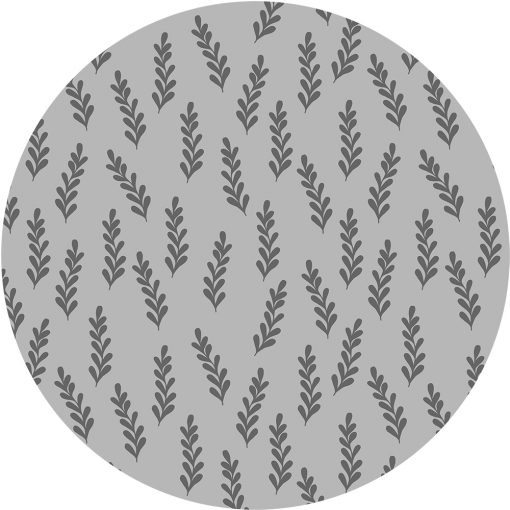 naklejka z roślinnym motywem na szklany blat