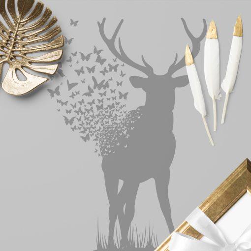 samoprzylepny obrus z jeleniem