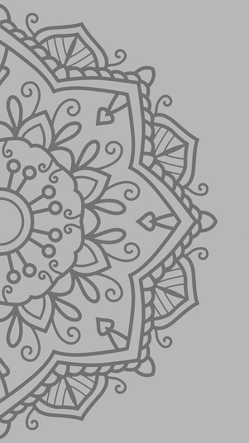 naklejka kwiat na szklany stół