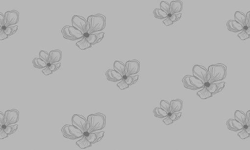 folia mrożona kwiaty