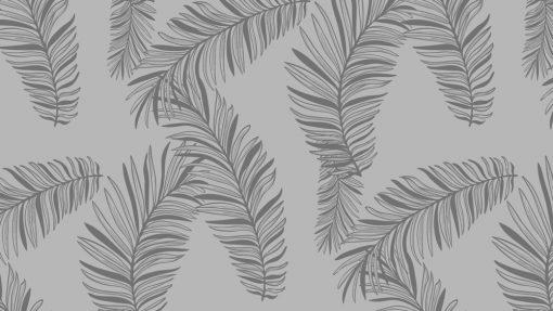 naklejka na szklany blat liście palmy