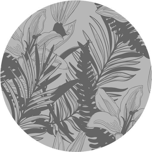 naklejka na szklany stół lilie