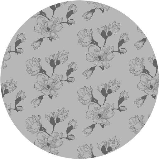 samoprzylepny obrus okrągły magnolie
