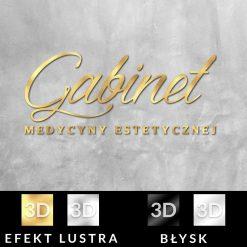 Logo 3d - gabinet medycyny estetycznej