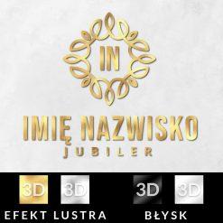 Trójwymiarowy logotyp dla jubilera